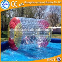 Jogos de água inflável ao ar livre água flutuante bola zorb bola de rolo de água preço