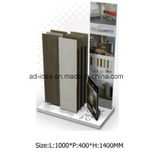 White Metal Display for Shop Tile Exhibition