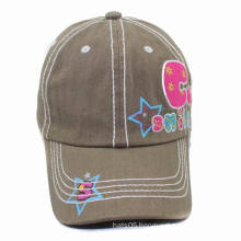 Promotional Curved Bill Baseball Cap with Cute Printing (GKM01-Q0024)