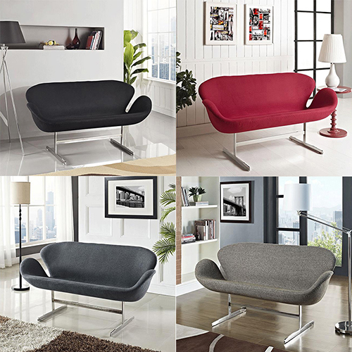 Swan Loveseat Sofa