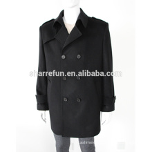 New Fashion 100% Pure Cashmere Wool coat for Men