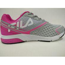 Zapatillas de running estilo joven de remiendo de mujer