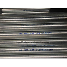 BS 1387 Hot Dipped Galvanized Steel Tube