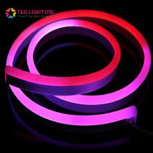 luz de tira flexible llevada al aire libre flexión de neón