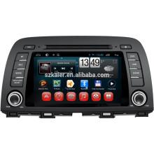 NEU! Auto DVD mit Spiegellink / DVR / TPMS / OBD2 für 8 Zoll capactiven Bildschirm 4.4 Android System MAZDA CX-5