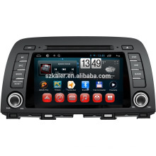 NOUVEAU! Dvd de voiture avec lien miroir / DVR / TPMS / OBD2 pour 8 pouces écran capacitif 4.4 Android système MAZDA CX-5