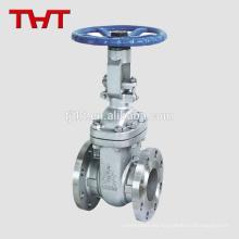 pn16 nosotros válvula de compuerta ascendente del vástago del acero inoxidable estándar para el aceite