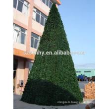 Arbre de Noël à usage professionnel géant de PVC