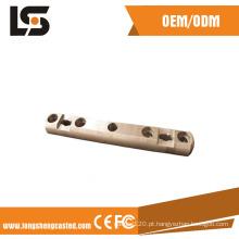 De boa qualidade Fornecedor fazendo à máquina das peças do CNC do bronze da elevada precisão