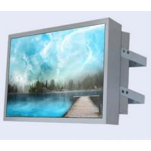32/47/55/65 Zoll an der Wand befestigte LCD-Anzeigen-Maschine im Freien