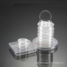 CE Approved Disposable Plastic Culture Petri Dish