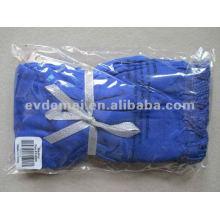 Echarpe en bleu marine viscose de couleur unie