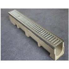 Cadre de tranchée robuste et grille de drainage fendue à la presse