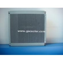 Refrigerador de aceite / aire comprimido para compresor de tornillo