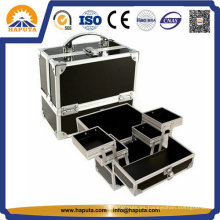 Caja de belleza cosmética Hot-Sale con marco de aluminio (HB-1203)