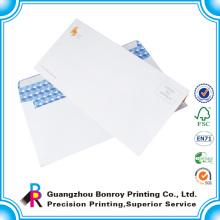Sobre del negocio del papel impreso # 14 de encargo barato