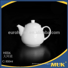 hotel and restaurant new style white porcelain coffee pot