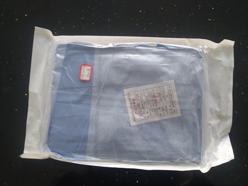 Disposable medical surgical gown