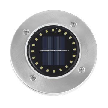 Lumière souterraine circulaire solaire