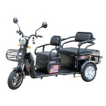 electric tricycle with folded up rear carriage