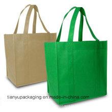 Bolso de compras natural orgánico barato del algodón de la alta calidad y