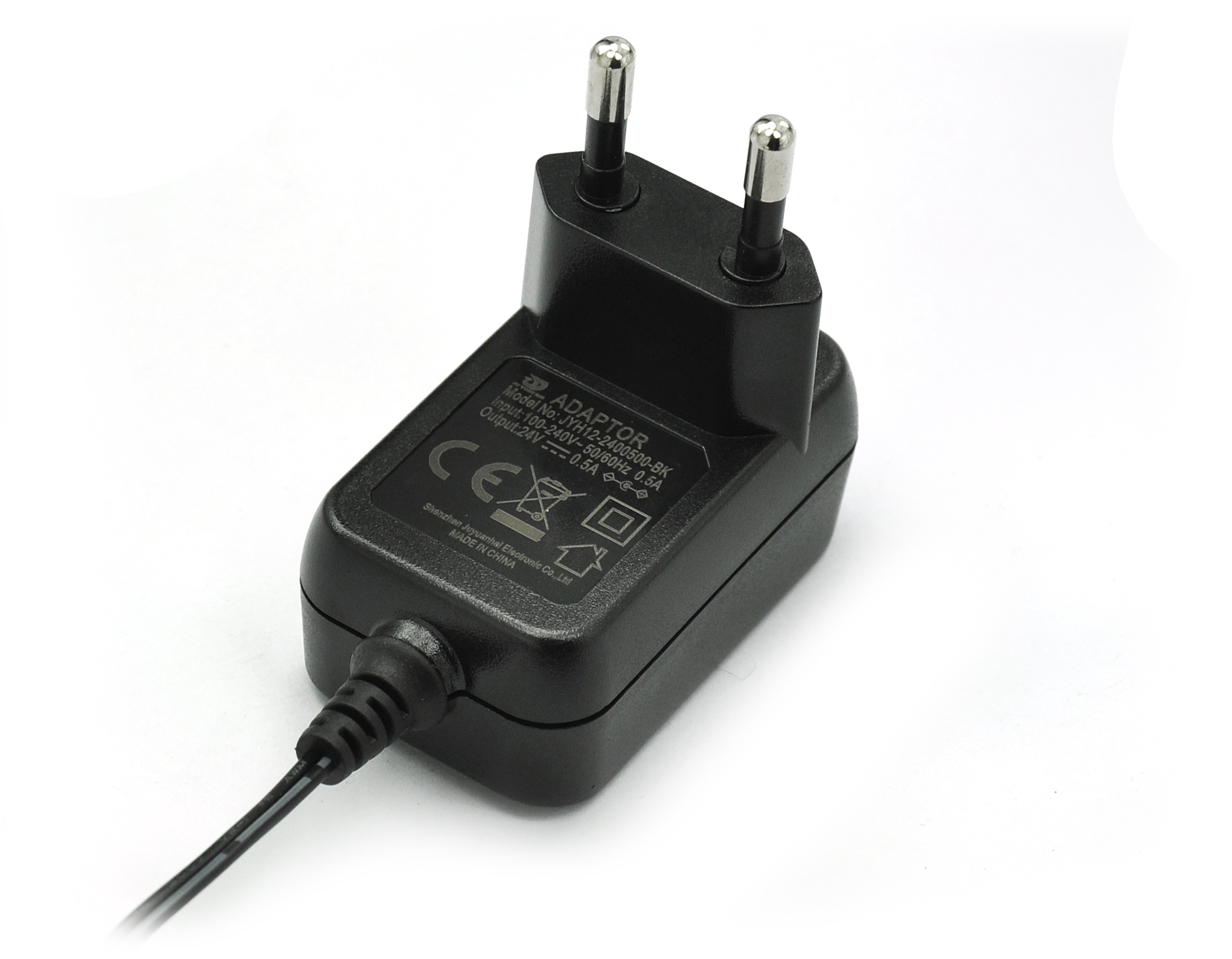 12V 1A 24V 0.5A Switching Power Adapter EU Plug