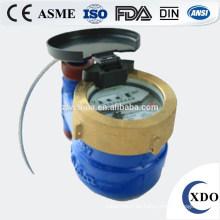 Medidor de flujo de agua de lectura directa fotoeléctrico Control remoto