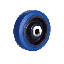 Синие эластичные резиновые одиночные колеса