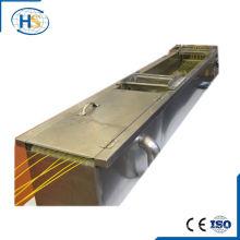 Máquina de extrusión de tornillo gemelo Baño de agua para refrigeración
