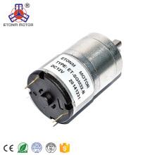 ETONM 12/24v gear motor with long shaft