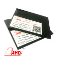 Thickness1mm ABS Plastic Sheet Black para mecanizado