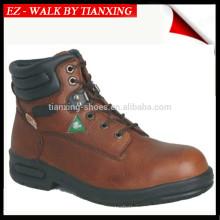 Sapatos de segurança aprovados pela CSA com pé de aço