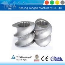 Vis de pièces de machines de haute qualité pour machine d'extrusion Tenda
