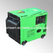 4kw silencioso gerador com motor diesel 9hp (dg5500se)