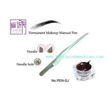 Maquina de tatuagem manual de maquiagem permanente