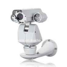 IR de visión nocturna impermeable WDR Pan Tilt sistema PTZ Cámara