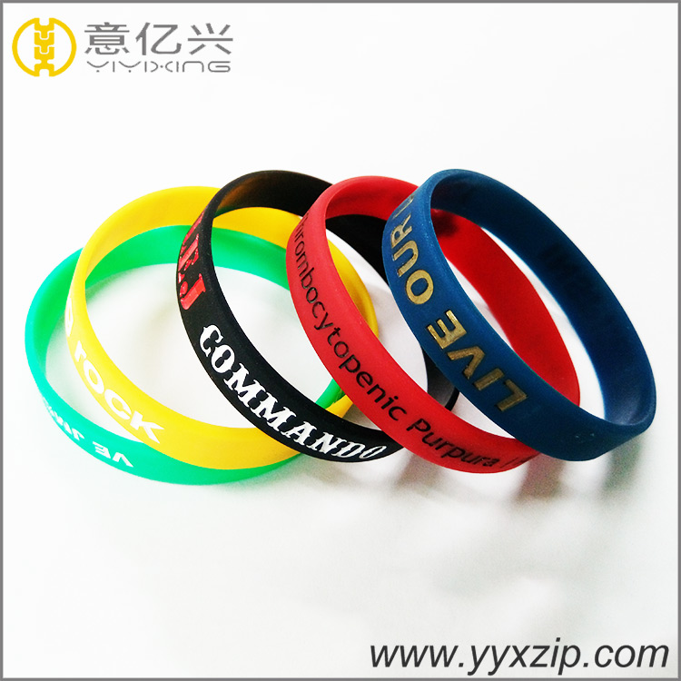 New Silicone Wrist Bands