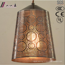 Ancient Metal Individuality Hollow Pendant Light with Dining Room