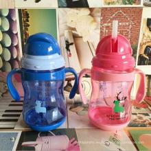 Botella de agua de plástico para niños