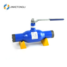 JKTL2W031 High quality gas heat & water used fully welded floating globe ball valve