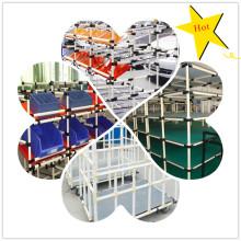 Système de rack bricolage avec tuyaux plastiques en plastique CE de haute qualité