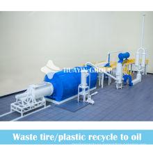 3/5 / 10T chatarra / máquina de aceite de motor de coche de residuos a diesel