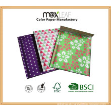 Customizable Size 21.5 * 17cm Color Printed Bubble Envelopes