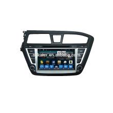 Quad core dvd lecteur pour voiture, wifi, BT, lien miroir, DVR, SWC pour Hyundai I20