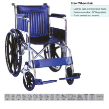 Double Cross Bar Wheelchair