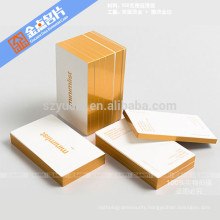Eco-frinedly offset printing luxury custom business cards