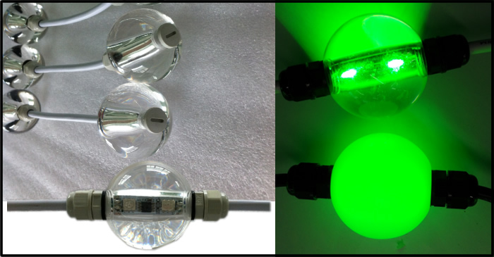 led decoration sphere