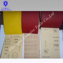 Fabrique rollos de papel de lija de alta calidad