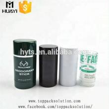 30/50 / 75ml couleur twist haute qualité vide ronde parfum déodorant Bâton récipient