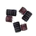Snap en aluminium condensateur électrolytique 105c Tmce18-13